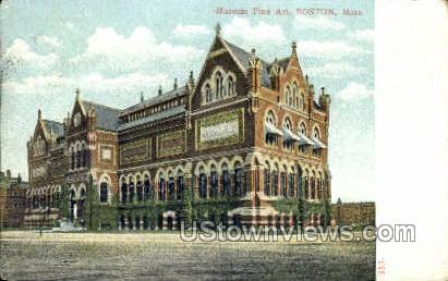 Museum of Fine Art - Boston, Massachusetts MA Postcard