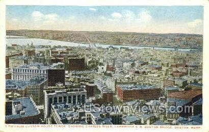 Boston, Massachusetts, MA Postcard