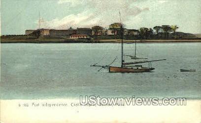 Castle Island - Boston, Massachusetts MA Postcard