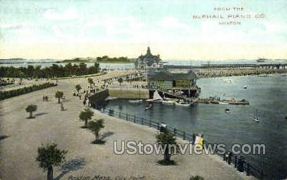 City Point - Boston, Massachusetts MA Postcard