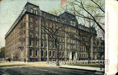 Franklin Square House - Boston, Massachusetts MA Postcard