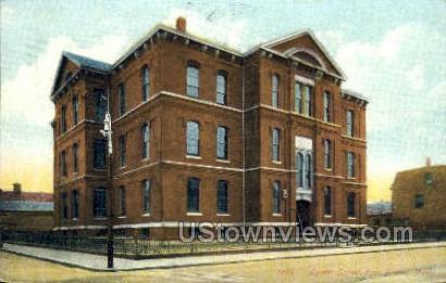 Lyman School - Boston, Massachusetts MA Postcard