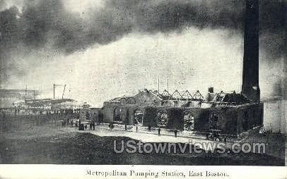 Metropolitan Pumping Station - Boston, Massachusetts MA Postcard