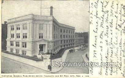 Christian Science Publishing House - Boston, Massachusetts MA Postcard