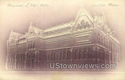 Museum of Fine Arts - Boston, Massachusetts MA Postcard