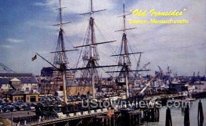 Old Ironsides - Boston, Massachusetts MA Postcard