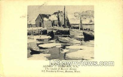 Rockport Harbor - Boston, Massachusetts MA Postcard
