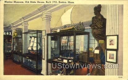 Old State House - Boston, Massachusetts MA Postcard