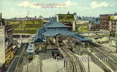 Dudley St. - Boston, Massachusetts MA Postcard