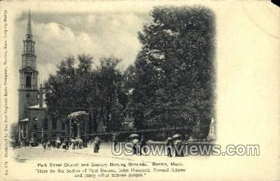 St. Church - Boston, Massachusetts MA Postcard
