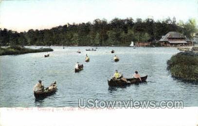Charles River - Boston, Massachusetts MA Postcard