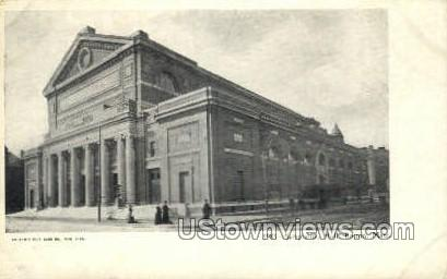 Symphony Hall - Boston, Massachusetts MA Postcard
