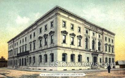 North East Conservatory of Music - Boston, Massachusetts MA Postcard