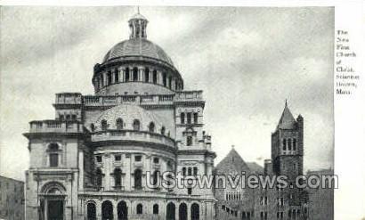 Church of Christ Scientist - Boston, Massachusetts MA Postcard