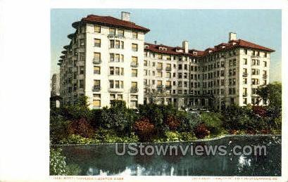Hotel Somerset - Boston, Massachusetts MA Postcard