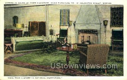 Paine Furniture Co. - Boston, Massachusetts MA Postcard
