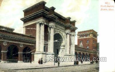 North Station - Boston, Massachusetts MA Postcard