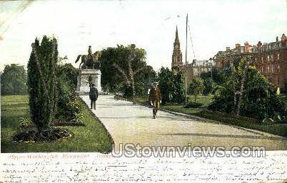Washington Monument - Boston, Massachusetts MA Postcard