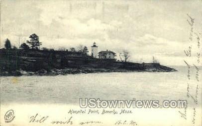 Hospital Point - Boston, Massachusetts MA Postcard