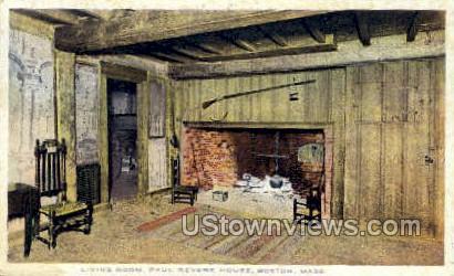 Paul Revere House - Boston, Massachusetts MA Postcard