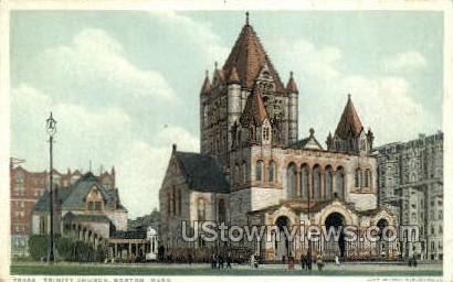 Trinity Church - Boston, Massachusetts MA Postcard