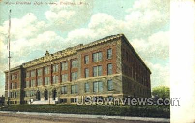 Brockton High School - Massachusetts MA Postcard