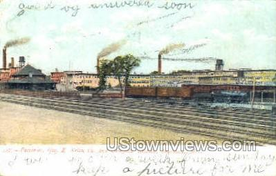 Factories, Geo. E. Keith Co. - Brockton, Massachusetts MA Postcard