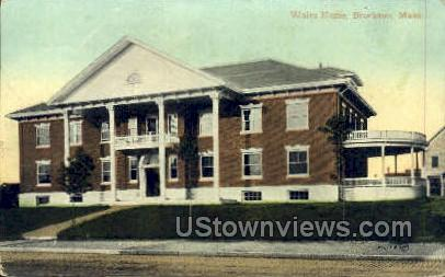 Wales Home - Brockton, Massachusetts MA Postcard