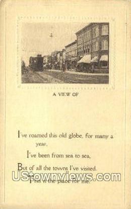 Brockton, Massachusetts, MA Postcard