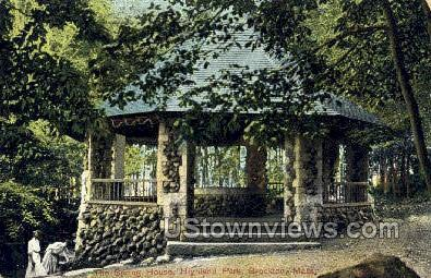 Spring House, Highland Park - Brockton, Massachusetts MA Postcard