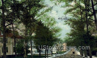 West Elm ST. - Brockton, Massachusetts MA Postcard