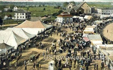 Brockton Fair - Massachusetts MA Postcard