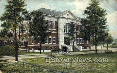 Brookline Municipal Gymnasium - Massachusetts MA Postcard