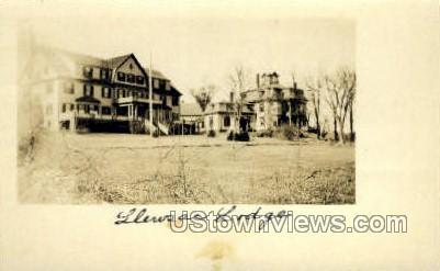 Real Photo - Lleusac Lodge - Misc, Massachusetts MA Postcard