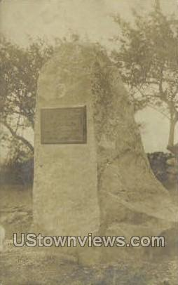 Site of the First Limerick Academy - Misc, Massachusetts MA Postcard