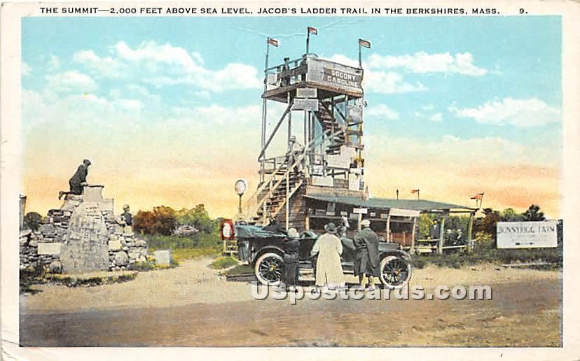 The Summit at Jacob's Ladder Trail - Berkshire Hills, Massachusetts MA Postcard