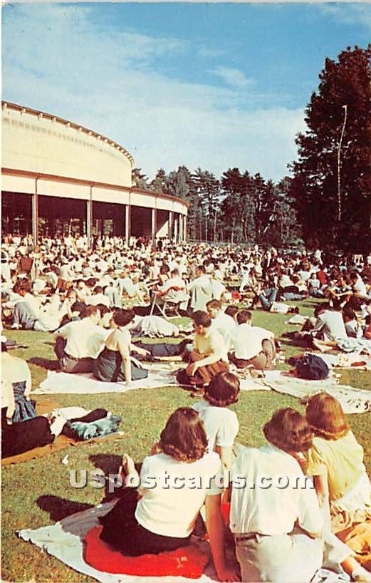 Berkshire Festival at Tanglewood - Berkshire Hills, Massachusetts MA Postcard