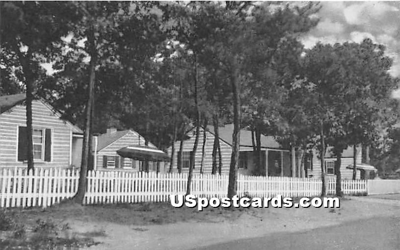 The Patches Sea View Avenue - Bass River, Massachusetts MA Postcard