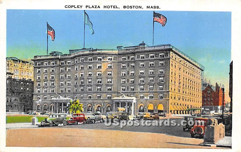 Copley Plaza Hotel - Boston, Massachusetts MA Postcard