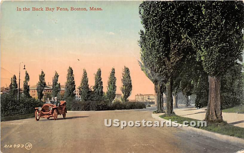 In the Back Buy Fens - Boston, Massachusetts MA Postcard