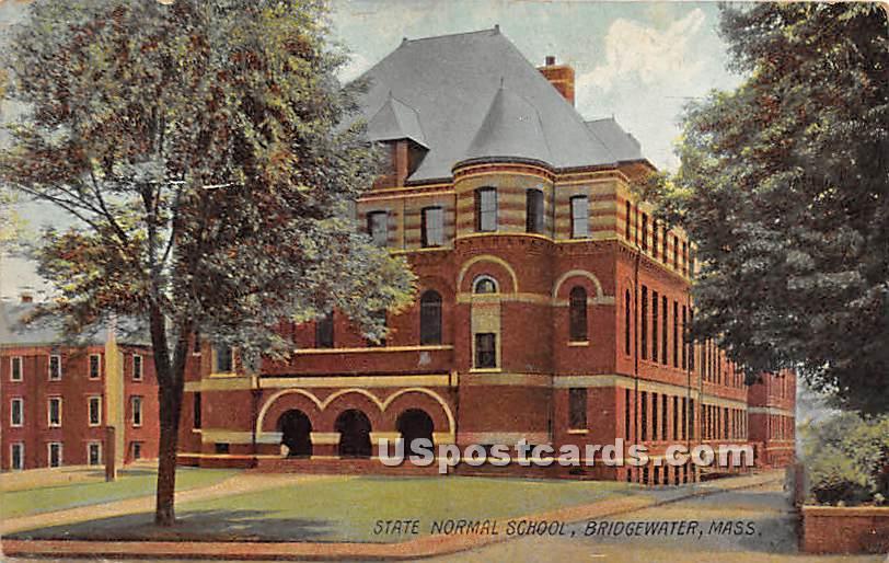 State Normal School - Bridgewater, Massachusetts MA Postcard