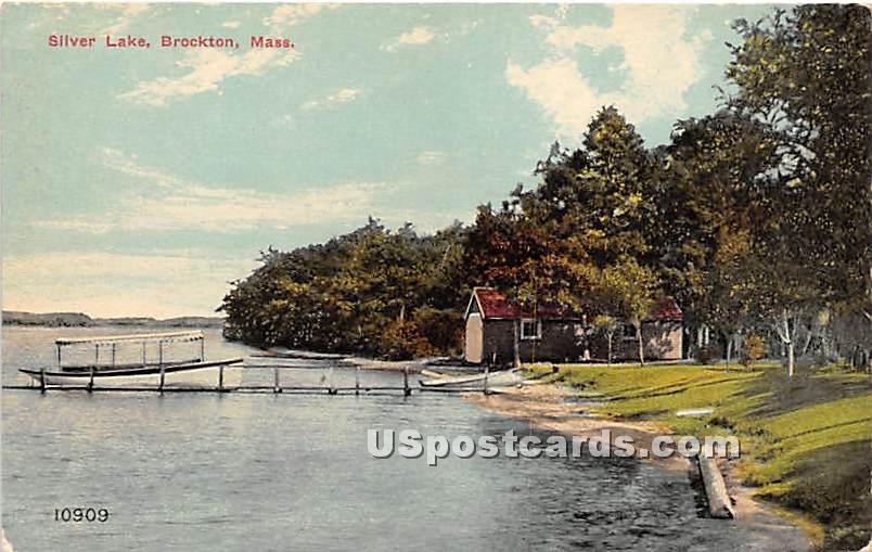 Silver Lake - Brockton, Massachusetts MA Postcard