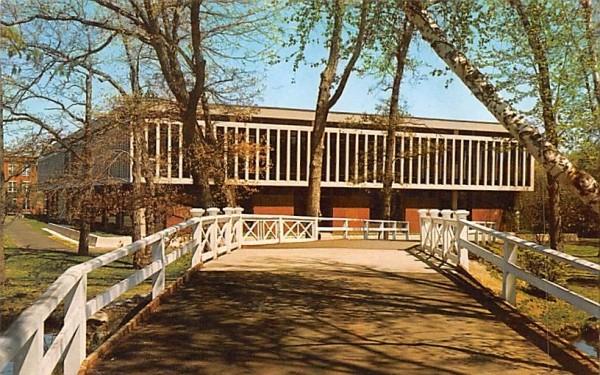 Bradford Junior College Massachusetts Postcard