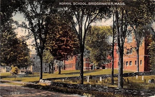 Normal School Bridgewater, Massachusetts Postcard