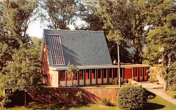 Bicknell Meditation Chapel Bradford, Massachusetts Postcard