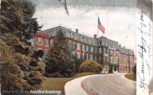 Bradford Academy Massachusetts Postcard