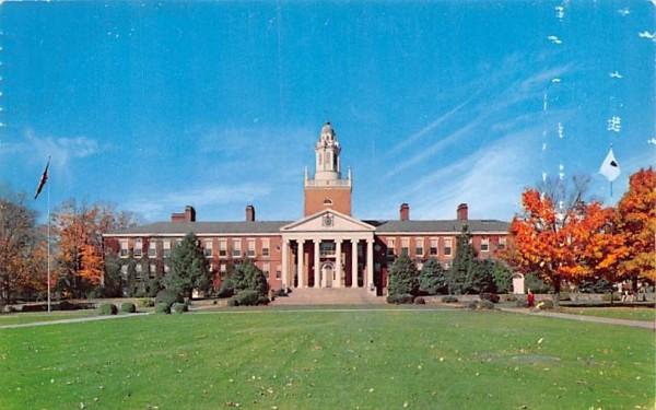 Boyden Hall Bridgewater, Massachusetts Postcard
