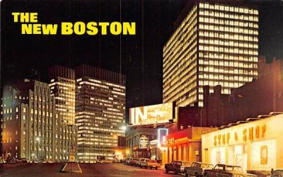 The New Boston Massachusetts Postcard