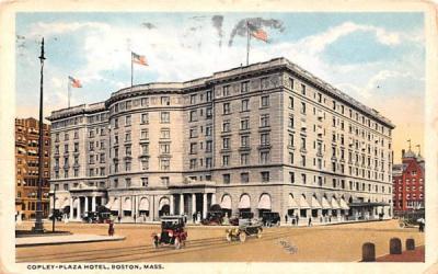 Copley-Plaza Hotel Boston, Massachusetts Postcard