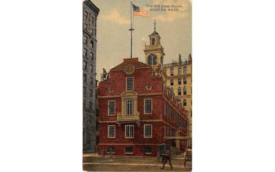 The Old State House Boston, Massachusetts Postcard